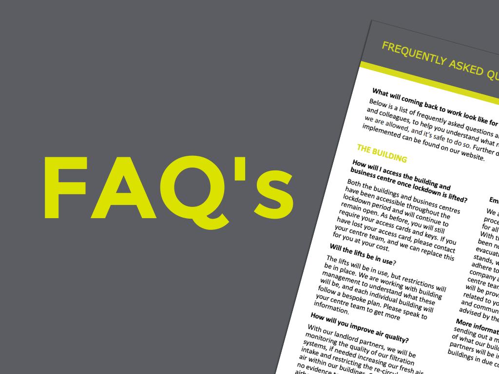 COVID-19 FAQ's