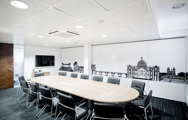 Orega King Street Meeting Room Rome