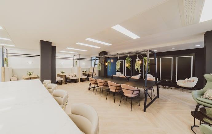 Orega Arkwright House 5th Floor communal area