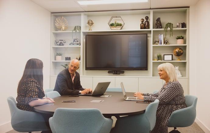 Orega Arkwright House meeting room people