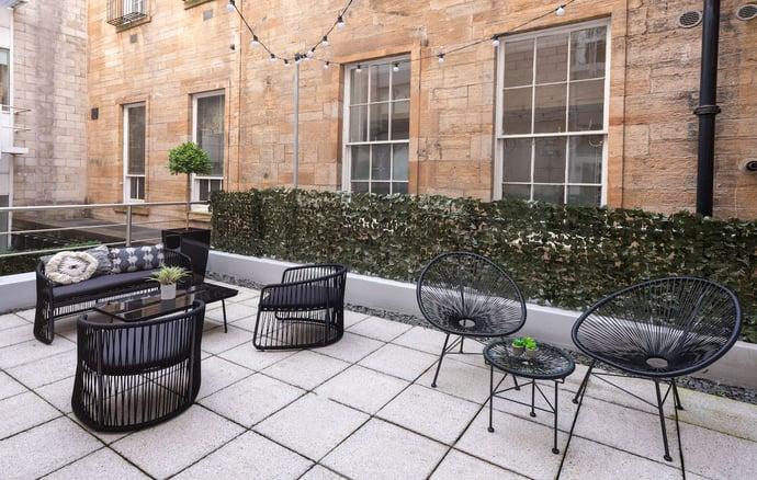Orega Serviced Offices Glasgow St Vincent Street terrace