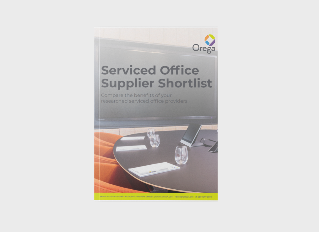 Serviced Office Supplier Shortlist - Resources