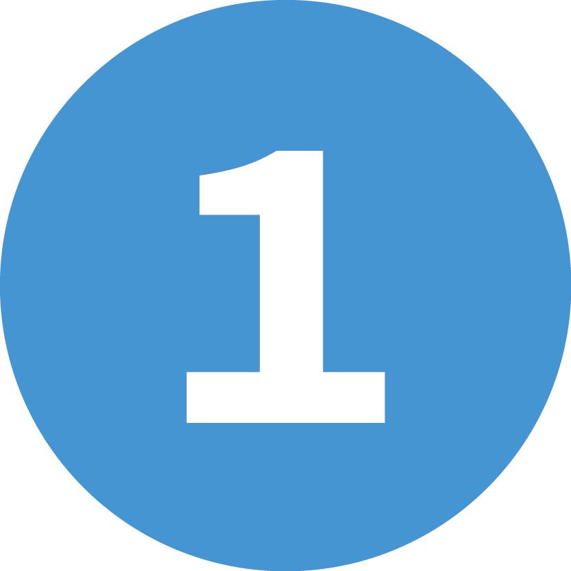 website blue numbers